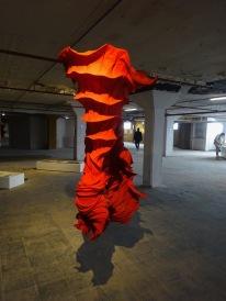 2014-23 Red Cone 180 x 100 x 80 cm