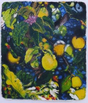 Lemon Dreams 62 x 53 cm, in China now