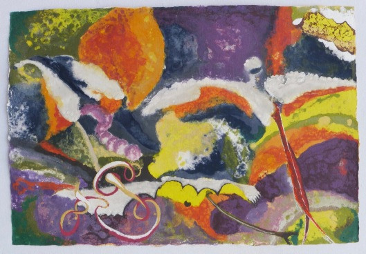 The Vine 82 x 119 cm,in China now