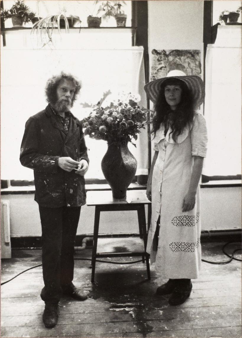Atelier Jan de Baenstraat, open ateliersPat en Peter Gentenaar, 1976
